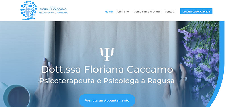Dott.ssa Floriana Caccamo - Psicologa Ragusa