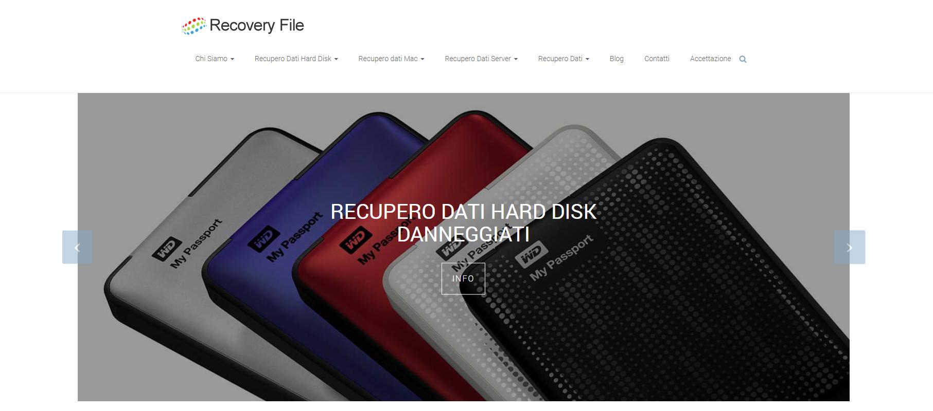 Recovery File - Centro Recupero Dati